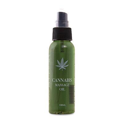 Cannabis Massageolie - 100ml *6TH*