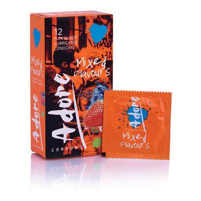 Adore Flavours Condooms - 12 Stuks *6TH*