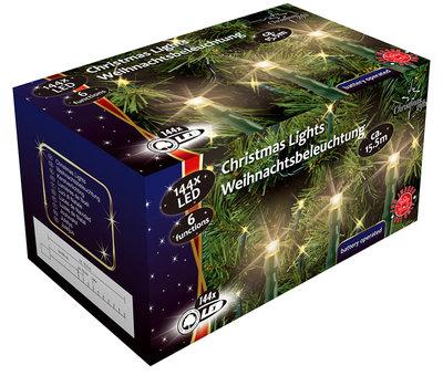 Christmas gifts LED-Kerstverlichting (144 LED's) met 6 funkties *6TH*